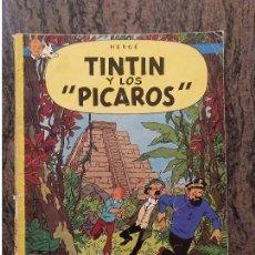 Cómics: TINTIN Y LOS PICAROS. CASTELLANO. PRIMERA EDICION 1976. HERGE JUVENTUD. LEER DESCRIPCION.. Lote 157861350