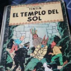 Cómics: TINTÍN EL TEMPLO DEL SOL. JUVENTUD. SEGUNDA EDICIÓN. AÑO 1961.. Lote 158208496