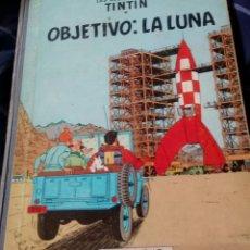 Cómics: TINTÍN OBJETIVO: LA LUNA. JUVENTUD. CUARTA EDICIÓN. AÑO 1967.. Lote 158208945