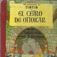Cómics: TINTIN: EL CETRO DE OTTOKAR, 1968, CUARTA EDICIÓN, JUVENTUD, USADO. COLECCIÓN A.T.. Lote 158375326