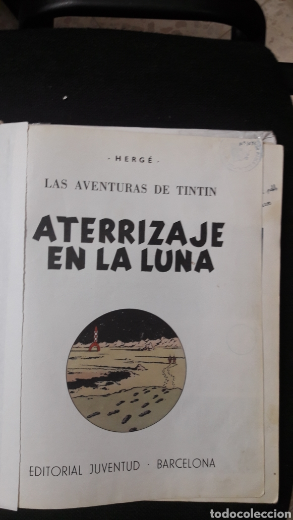 ATERRIZAJE EN LA LUNA-1985-TINTIN-HERGE (Tebeos y Comics - Juventud - Tintín)