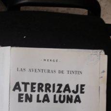 Cómics: ATERRIZAJE EN LA LUNA-1985-TINTIN-HERGE. Lote 158392176