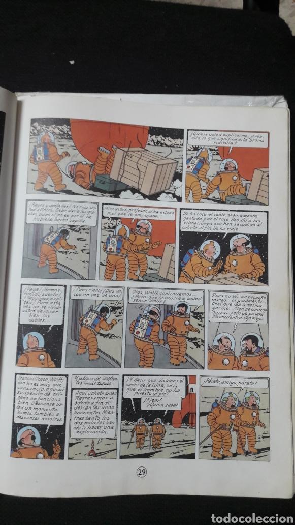 Cómics: ATERRIZAJE EN LA LUNA-1985-TINTIN-HERGE - Foto 4 - 158392176