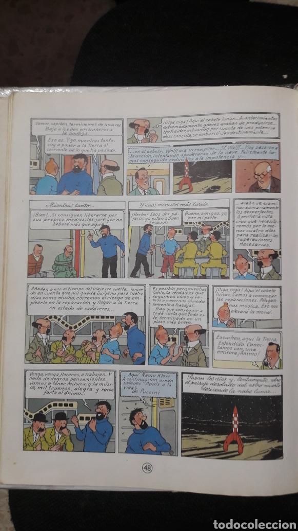 Cómics: ATERRIZAJE EN LA LUNA-1985-TINTIN-HERGE - Foto 5 - 158392176