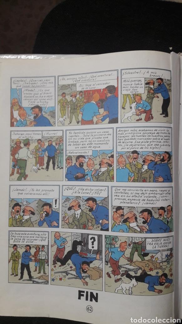 Cómics: ATERRIZAJE EN LA LUNA-1985-TINTIN-HERGE - Foto 6 - 158392176