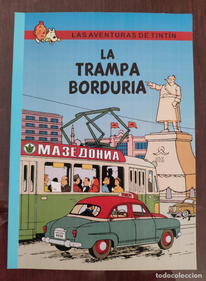 LAS AVENTURAS DE TINTIN: LA TRAMPA BORDURIA (1° EDICION) - NO OFICIAL (2004) (Tebeos y Comics - Juventud - Tintín)