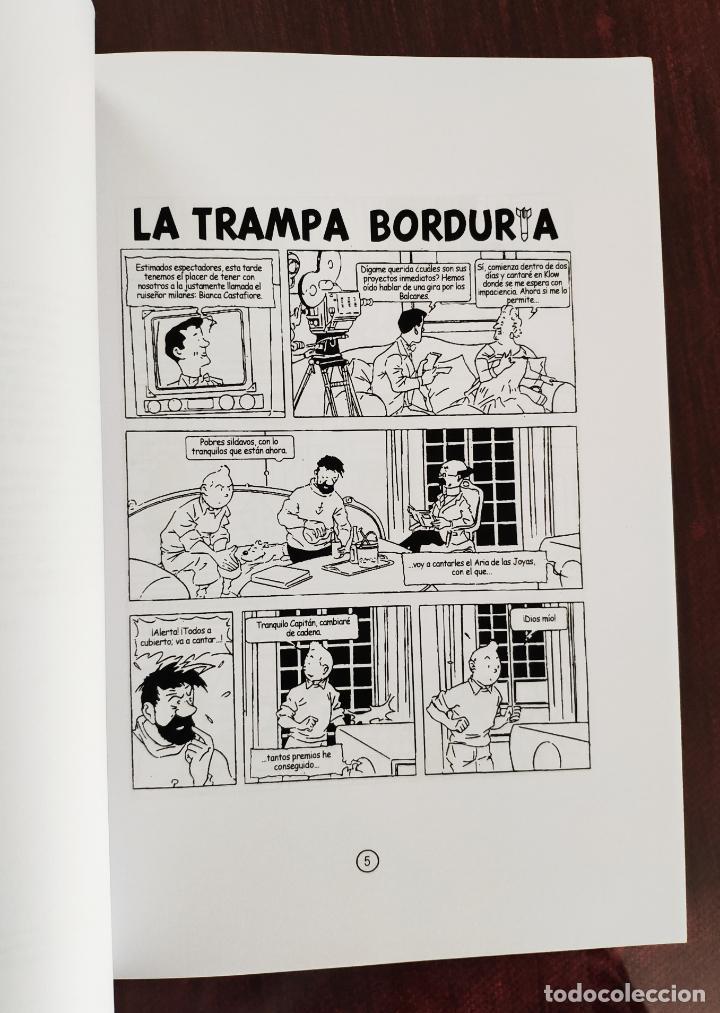Cómics: LAS AVENTURAS DE TINTIN: LA TRAMPA BORDURIA (1° EDICION) - NO OFICIAL (2004) - Foto 3 - 158572798