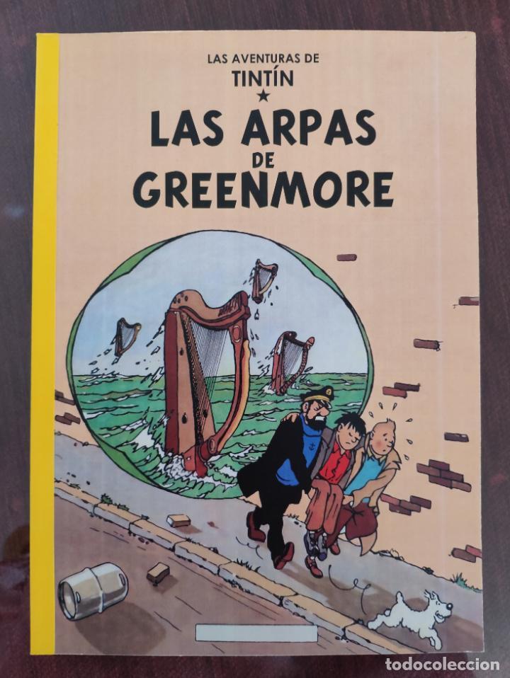 LAS AVENTURAS DE TINTIN: LAS ARPAS DE GREENMORE (1° EDICION) - NO OFICIAL (2011) (Tebeos y Comics - Juventud - Tintín)