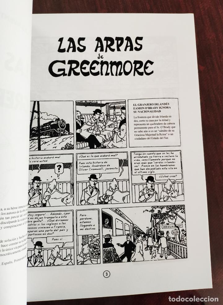 Cómics: LAS AVENTURAS DE TINTIN: LAS ARPAS DE GREENMORE (1° EDICION) - NO OFICIAL (2011) - Foto 3 - 158576602