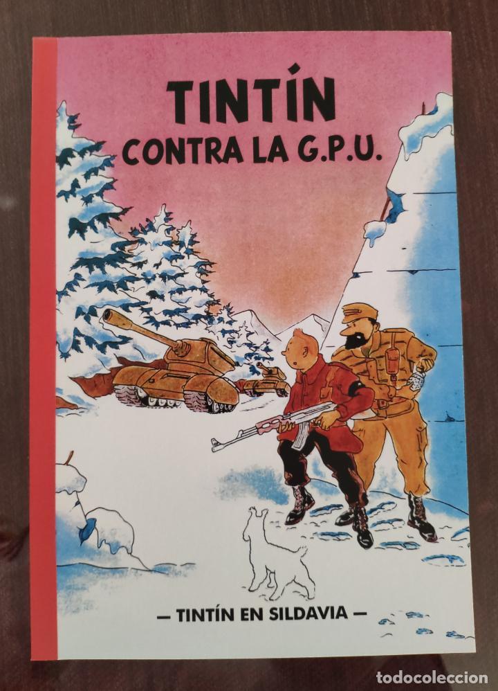 TINTIN CONTRA G.P.U. (1° EDICION) - TINTIN EN SILDAVIA - NO OFICIAL (2016) (Tebeos y Comics - Juventud - Tintín)