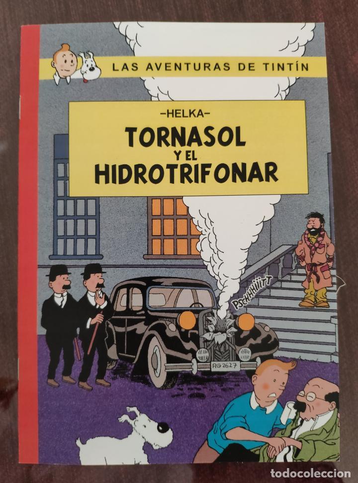 LAS AVENTURAS DE TINTIN: TORNASOL Y EL HIDROTRIFONAR (1° EDICION) - HELKA- NO OFICIAL (2014) (Tebeos y Comics - Juventud - Tintín)