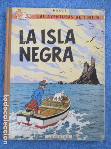 TINTÍN LA ISLA NEGRA 2ª EDICIÓN DEL AÑO 1967 IDIOMA CASTELLANO (Tebeos y Comics - Juventud - Tintín)