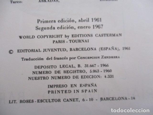 Cómics: Tintín la isla negra 2ª edición del año 1967 Idioma castellano - Foto 10 - 158606594