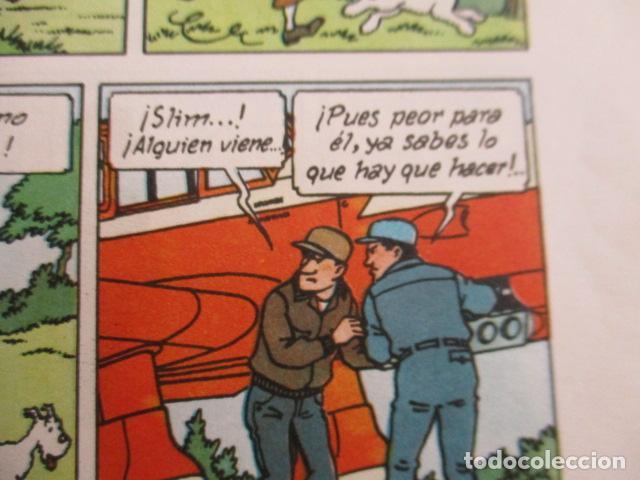Cómics: Tintín la isla negra 2ª edición del año 1967 Idioma castellano - Foto 11 - 158606594