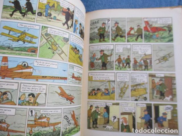Cómics: Tintín la isla negra 2ª edición del año 1967 Idioma castellano - Foto 12 - 158606594