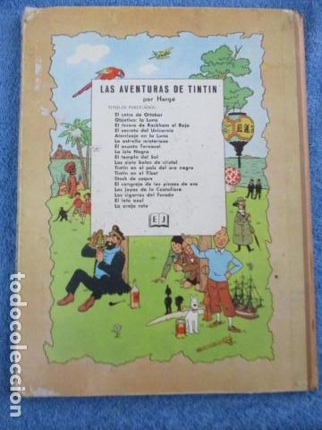 Cómics: Tintín la isla negra 2ª edición del año 1967 Idioma castellano - Foto 18 - 158606594
