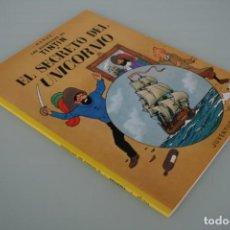 Comics: HERGÉ LAS AVENTURAS DE TINTIN: EL SECRETO DEL UNICORNIO – EDITORIAL JUVENTUD . Lote 158709666