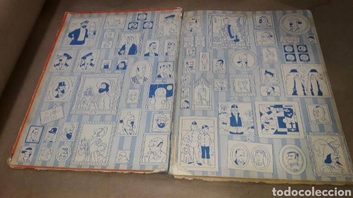 Cómics: TINTÍN EL LOTO AZUL LOMO TELA PRIMERA EDICIÓN 1965 - Foto 2 - 158717489