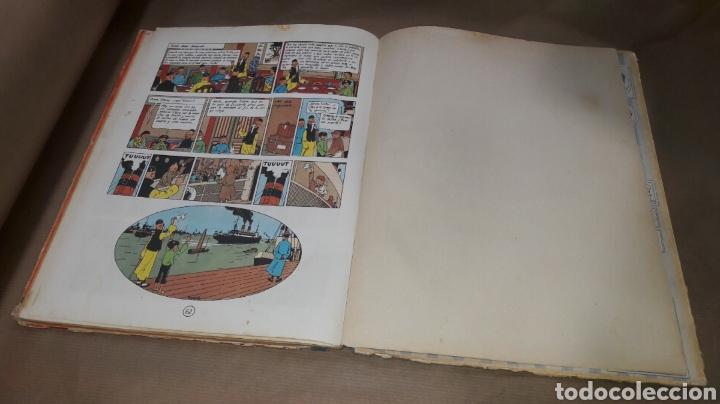 Cómics: TINTÍN EL LOTO AZUL LOMO TELA PRIMERA EDICIÓN 1965 - Foto 7 - 158717489