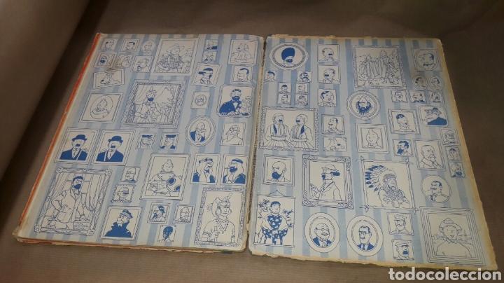 Cómics: TINTÍN EL LOTO AZUL LOMO TELA PRIMERA EDICIÓN 1965 - Foto 8 - 158717489