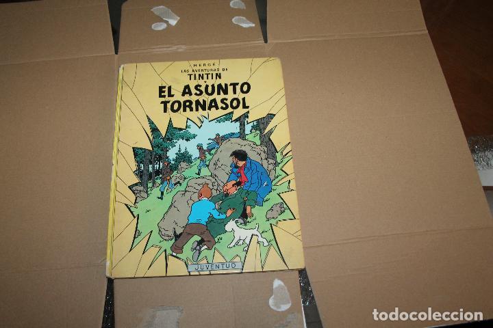 TINTÍN, EL ASUNTO TORNASOL, TAPA DURA, EDITORIAL JUVENTUD, AÑO 1981 (Tebeos y Comics - Juventud - Tintín)