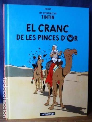 LES AVENTURES DE TINTIN -EL CRANC DE LES PINCES D,OR -PEQUEÑO TAMAÑO CASTERMAN EN CATALAN (Tebeos y Comics - Juventud - Tintín)