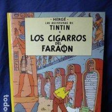 Cómics: LAS AVENTURES DE TINTIN -LOS CIGARROS DEL FARAON -EDITORIAL JUVENTUD -. Lote 159613738