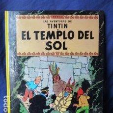 Cómics: LAS AVENTURES DE TINTIN -EL TEMPLO DEL SOL -EDITORIAL JUVENTUD -. Lote 159613894