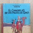Cómics: TINTÍN - CANGREJO PINZAS ORO. PRIMERA EDICIÓN. Lote 159784049