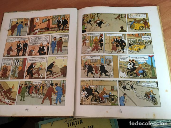 Cómics: TINTIN EL CETRO DE OTTOKAR (ED. JUVENTUD) CUARTA EDICION 1968 (COIM23) - Foto 2 - 159859866