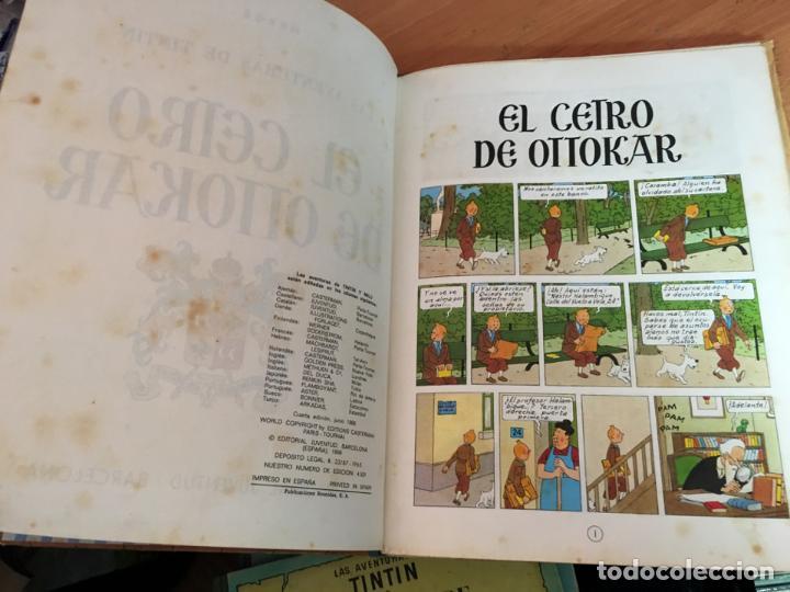 Cómics: TINTIN EL CETRO DE OTTOKAR (ED. JUVENTUD) CUARTA EDICION 1968 (COIM23) - Foto 4 - 159859866