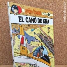 Cómics: YOKO TSUNO Nº15. EL CANÓ DE KRA - ROGER LELOUP - JOVENTUD 1ª EDICION 1990 - MUY BUEN ESTADO - GCH. Lote 160086014