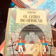 Cómics: TINTÍN - EL CETRO DE OTTOKAR SEGUNDA EDICIÓN. Lote 160225726
