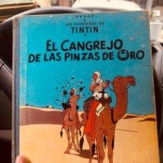 Cómics: TINTÍN-EL CANGREJO DE LAS PINZAS DE ORO- SEGUNDA EDICIÓN. Lote 160229522