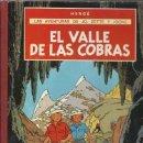 Cómics: LAS AVENTURAS DE JO, ZETTE Y JOCKO: EL VALLE DE LAS COBRAS, 1972, PRIMERA EDICIÓN, BUEN ESTADO. Lote 160399230