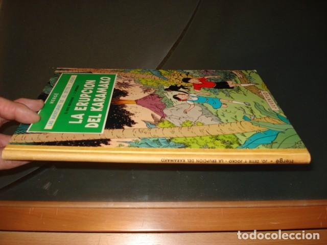 Cómics: Las aventuras de Jo, Zette y Jocko: la erupción del Karamako, 1971, primera edición, muy buen estado - Foto 2 - 160399770