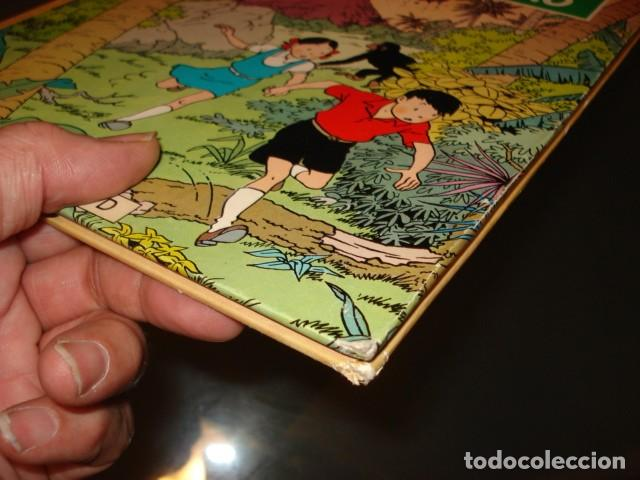Cómics: Las aventuras de Jo, Zette y Jocko: la erupción del Karamako, 1971, primera edición, muy buen estado - Foto 3 - 160399770