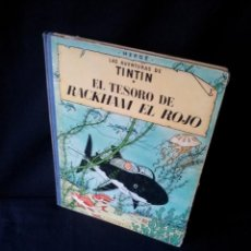 Cómics: TINTIN - EL TESORO DE RACKHAM EL ROJO - EDITORIAL JUVENTUD DE 1971. Lote 160442522