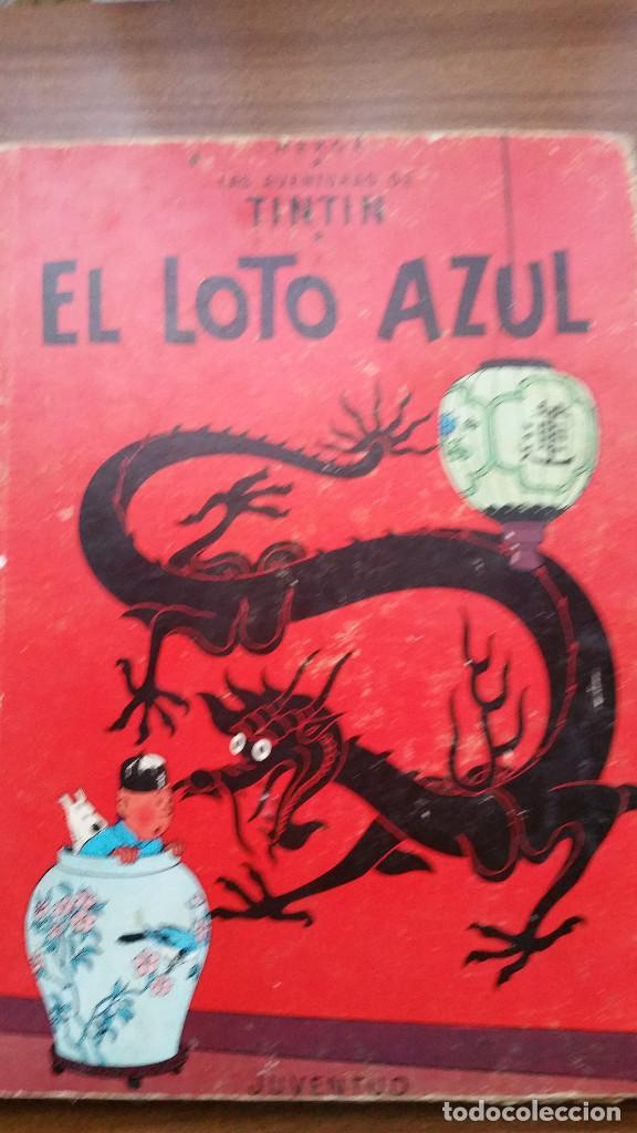 TINTIN- EL LOTO AZUL (TERCERA EDICIÓN 1970) (Tebeos y Comics - Juventud - Tintín)