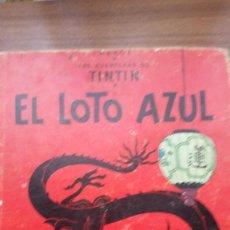 Cómics: TINTIN- EL LOTO AZUL (TERCERA EDICIÓN 1970). Lote 161493310