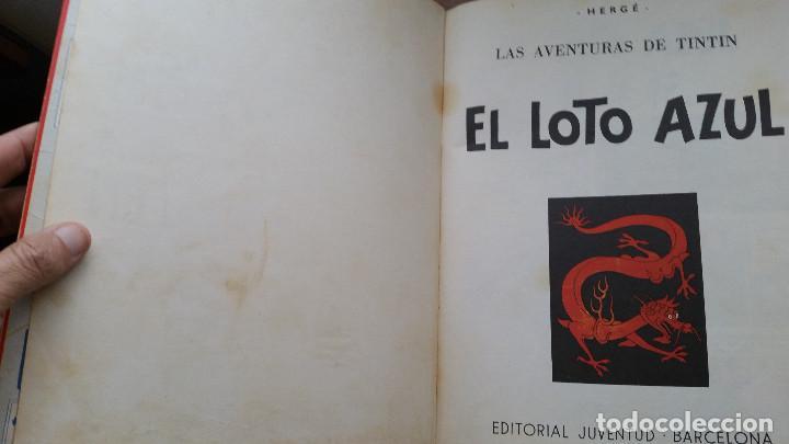 Cómics: Tintin- El loto azul (tercera edición 1970) - Foto 4 - 161493310