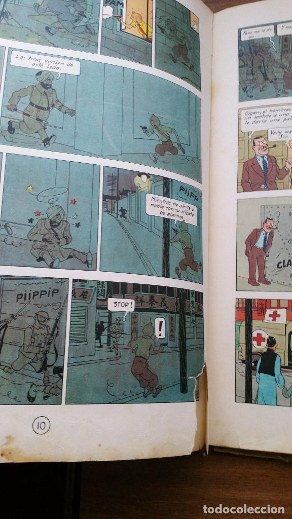 Cómics: Tintin- El loto azul (tercera edición 1970) - Foto 5 - 161493310