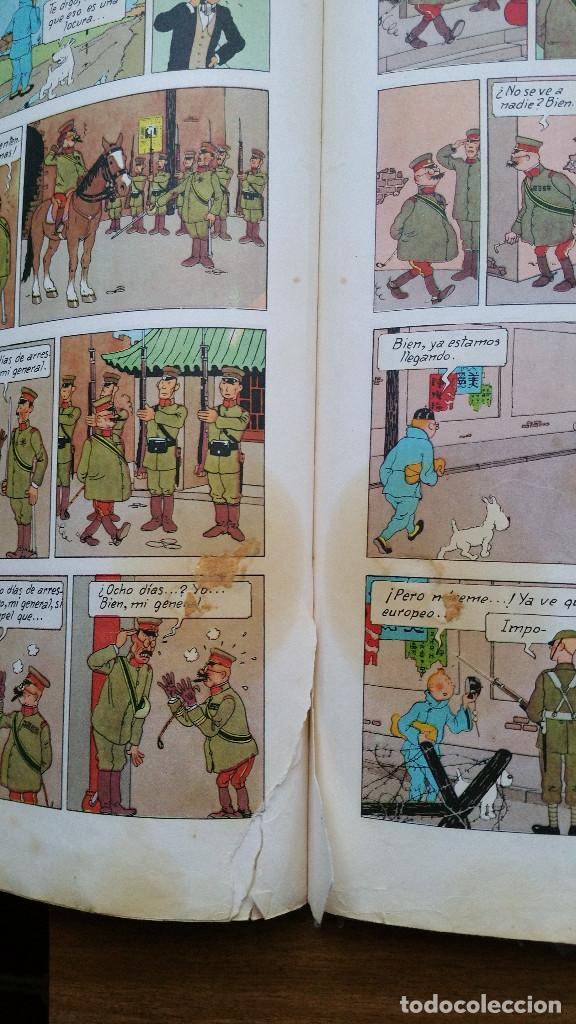 Cómics: Tintin- El loto azul (tercera edición 1970) - Foto 6 - 161493310