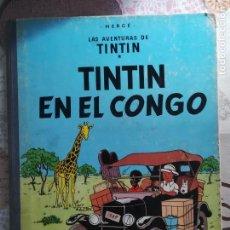 Cómics: TINTIN EN EL CONGO PRIMERA EDICION 1968. Lote 161530090
