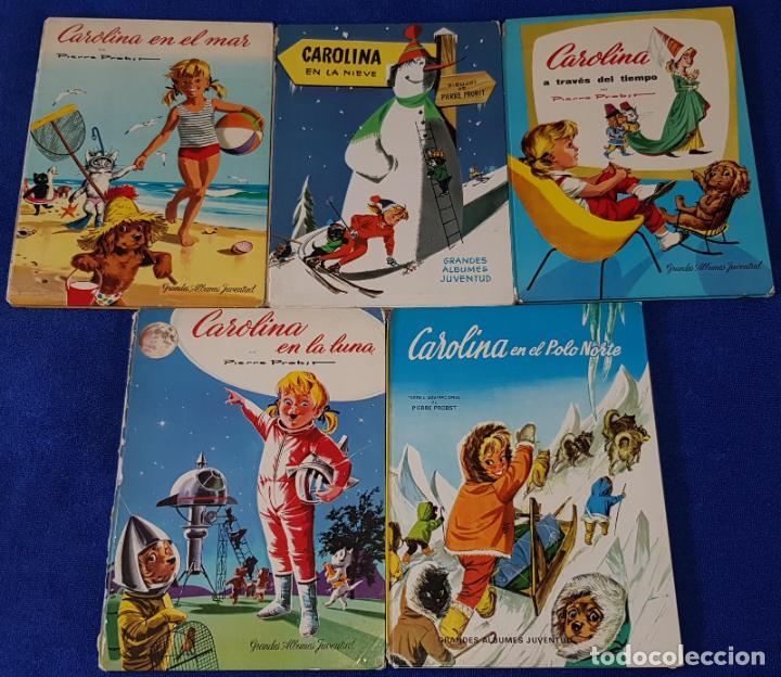 CAROLINA - PIERRE PROST - GRANDES ALBUMES JUVENTUD (1961 / 1971) (Tebeos y Comics - Juventud - Otros)