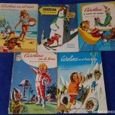 Cómics: CAROLINA - PIERRE PROST - GRANDES ALBUMES JUVENTUD (1961 / 1971). Lote 184074646