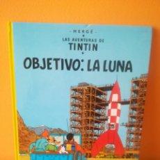 Fumetti: TINTÍN OBJETIVO LA LUNA . JUVENTUD EDICION AÑO 92. Lote 162018262