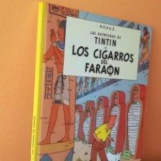 Cómics: LAS AVENTURAS DE TINTÍN, LOS CIGARROS DEL FARAÓN, RÚSTICA, EDITORIAL JUVENTUD AÑOS 90. Lote 162018802