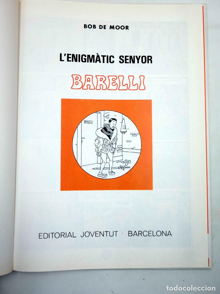 Cómics: LENIGMÀTIC SENYOR BARELLI (Bob De Moor) Joventud, 1990 - Foto 3 - 162041866