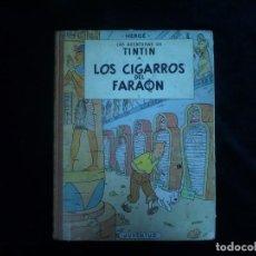 Cómics: LAS AVENTURAS DE TINTIN JUVENTUD LOS CIGARROS DEL FARAON HERGE 1ª EDICION JULIO 1964. Lote 162053442